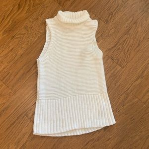 2/$30 White Knit Sweater Vest